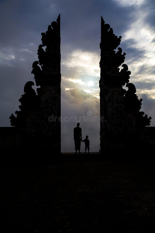 Stargate świątynia obrazy royalty free