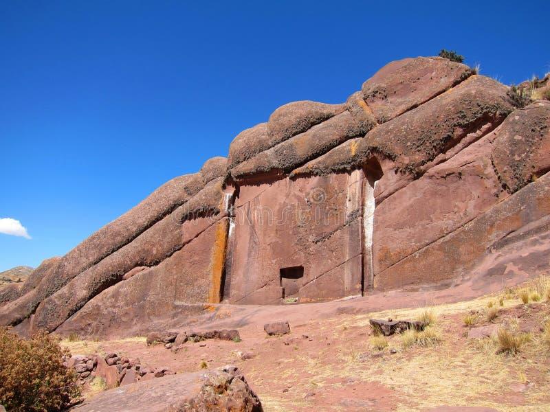 Stargate de la marca de Hayu, Perú fotografía de archivo