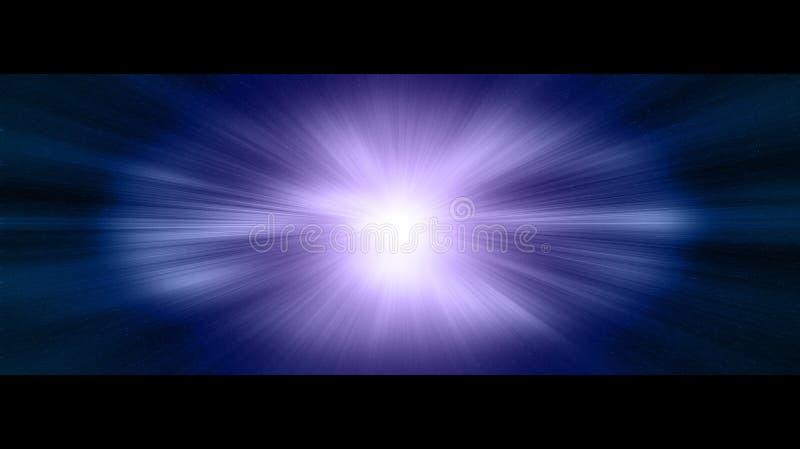 Stargate in deep space vector illustration