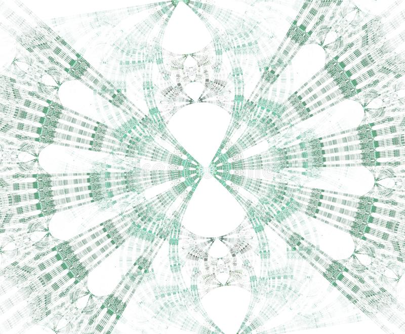 Stargate que brilla intensamente con las partículas en espacio Fondo abstracto del fractal Un fichero grande que muestra muchos d stock de ilustración
