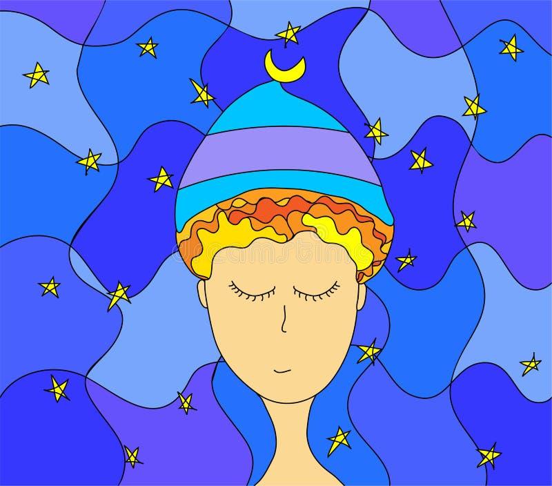 Stargazer illustration libre de droits