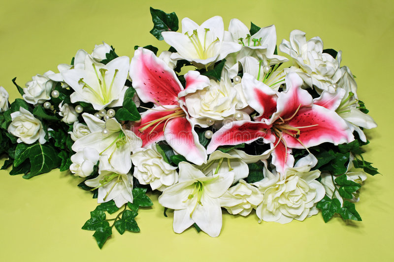 Download Stargazer lily stock image. Image of bouquet, flowers - 4943683