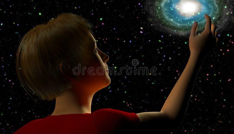 stargazing ilustração stock