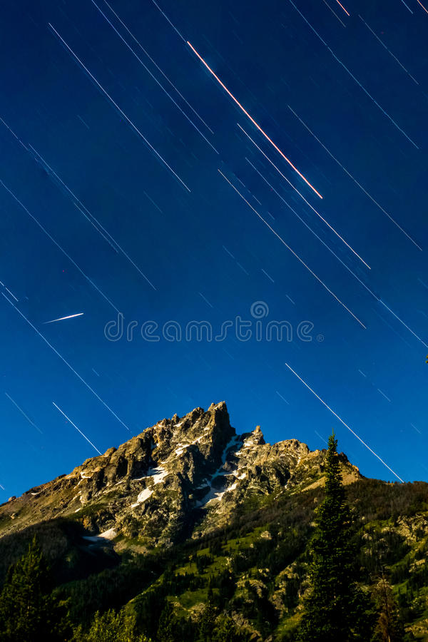 Stargazing w parkach narodowych obrazy stock