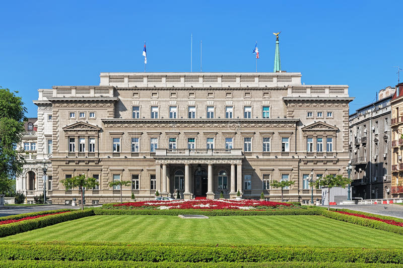 Stari Dvor (Old Palace) in Belgrade, Serbia. Stari Dvor (Old Palace), the seat of the City Assembly of Belgrade, Serbia stock photos