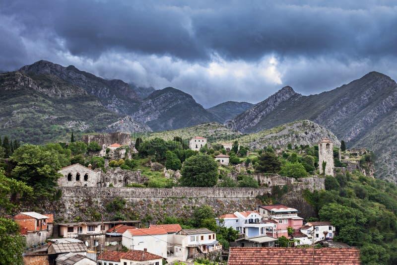 Stari Grad, Bar. Stari Grad (Old Town), Bar in Montenegro stock image