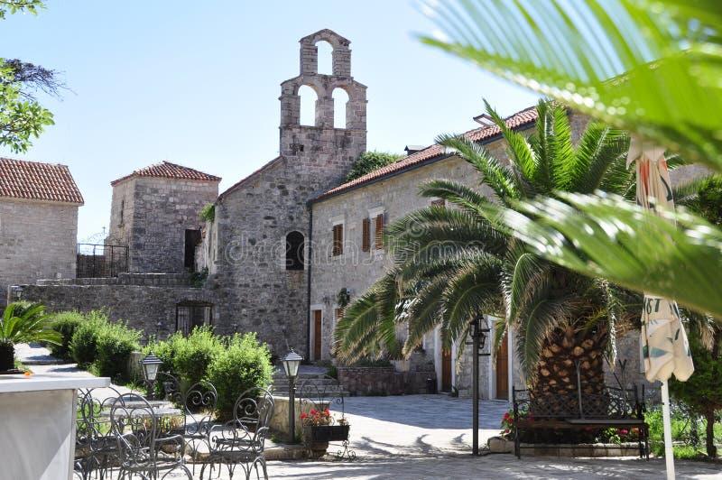Stari Grad, Budva, Mintenegro στοκ εικόνες
