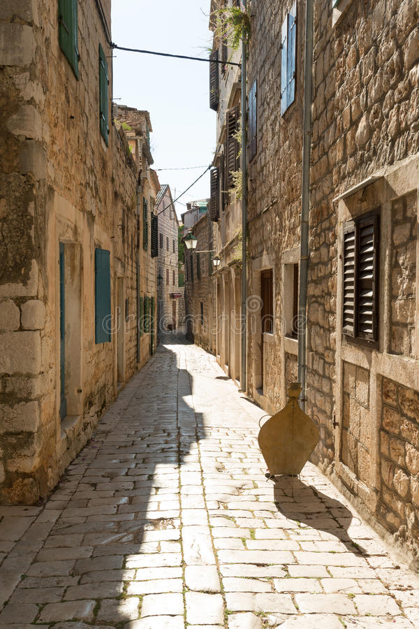 Stari Grad, Hvar stock image