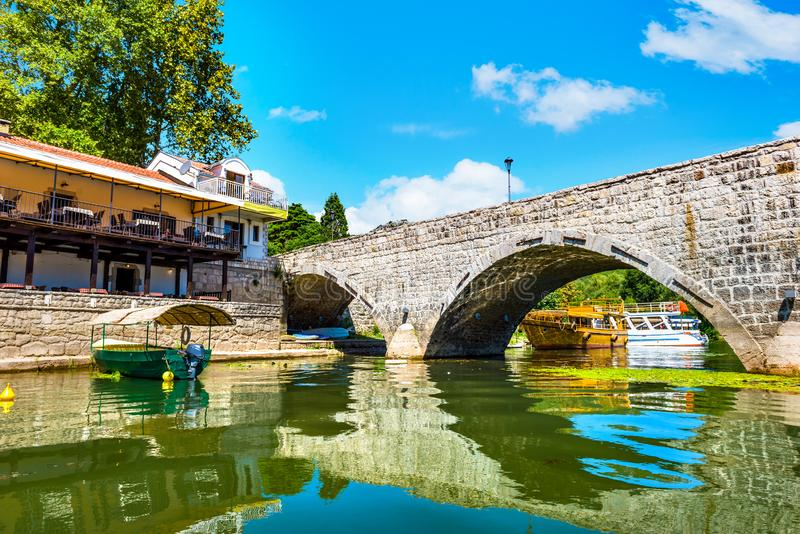Stari Most in Montenegro royalty free stock photography