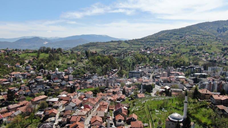 Stari Travnik Bosna i Hercegovina imagenes de archivo
