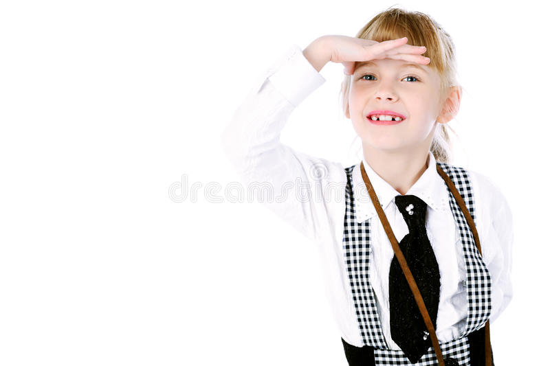 Download Staring into distance stock photo. Image of staring, childhood - 15027710