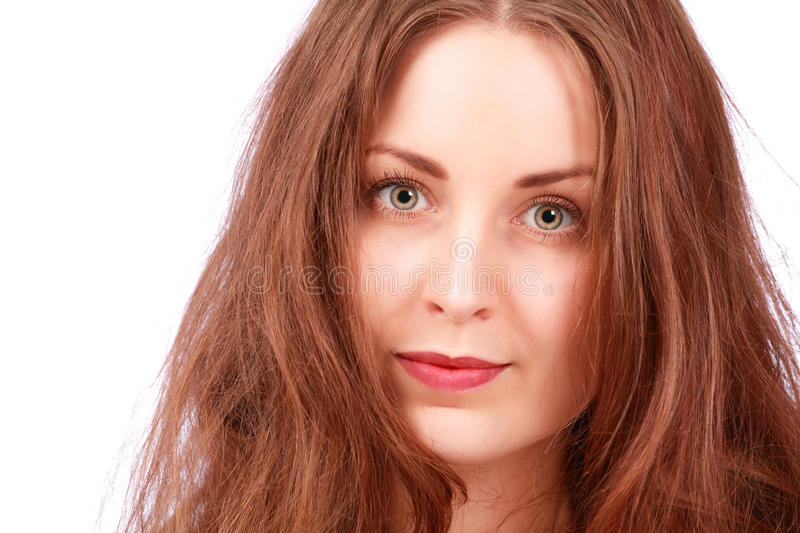 Download Staring girl stock image. Image of brunette, person, people - 28021105