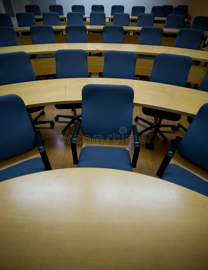 Download Staring Into A Sea Of Chairs In A Conference Room Stock Photo - Image: 4132666