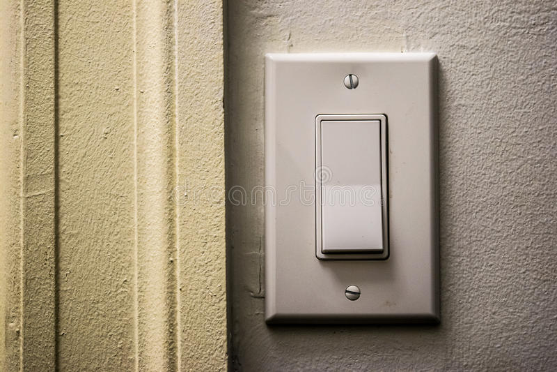 Stark Light Switch royalty free stock photography