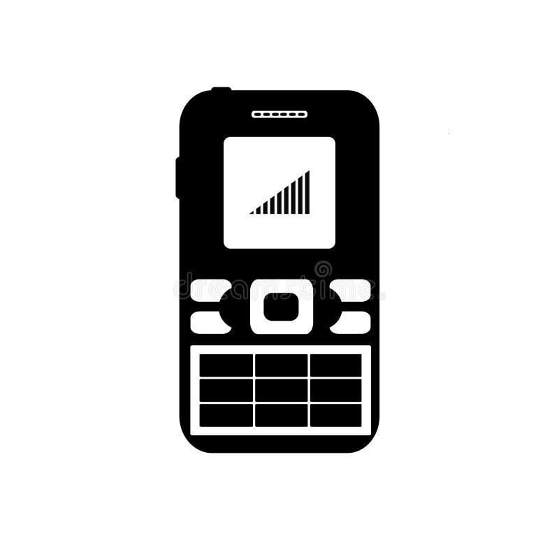 Stark mobiltelefonsignal stock illustrationer