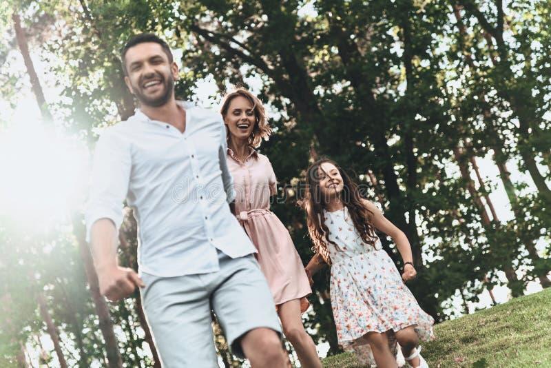 Starke Familienbindungen lizenzfreie stockbilder