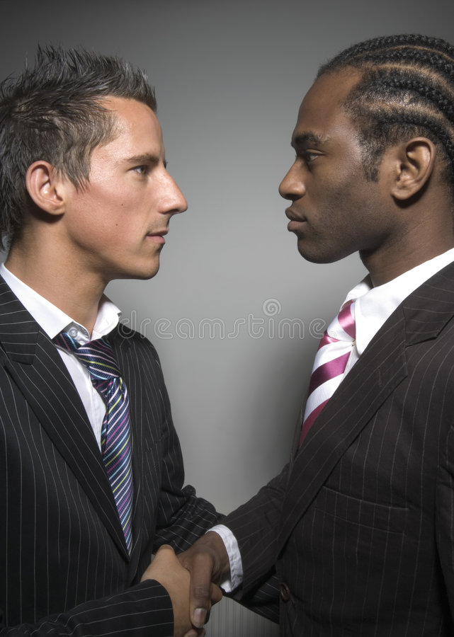 Starke Männer lizenzfreie stockfotos