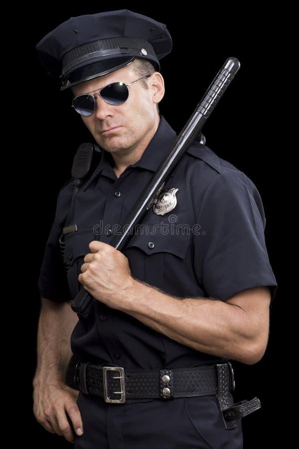 Starke Spindel in der Uniform lizenzfreies stockfoto