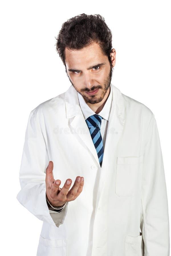 Starker Doktor lizenzfreie stockbilder
