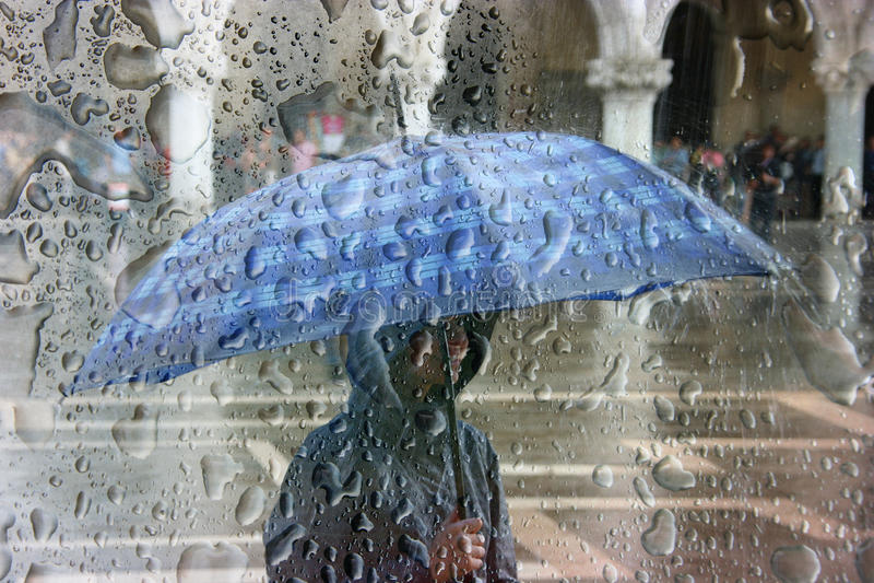 Starker Regen lizenzfreie stockfotografie