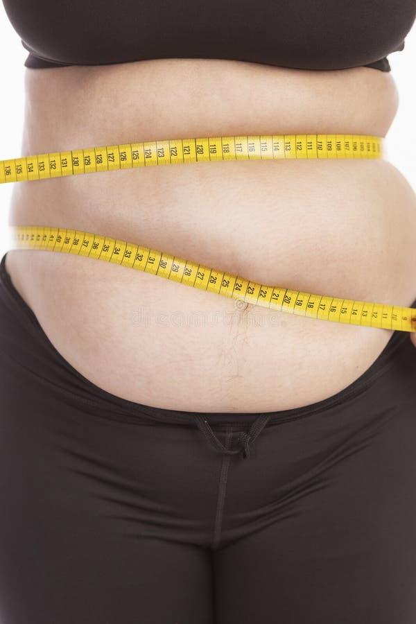 Starker weiblicher Körper in der Unterwäsche, Nahaufnahme lizenzfreies stockbild