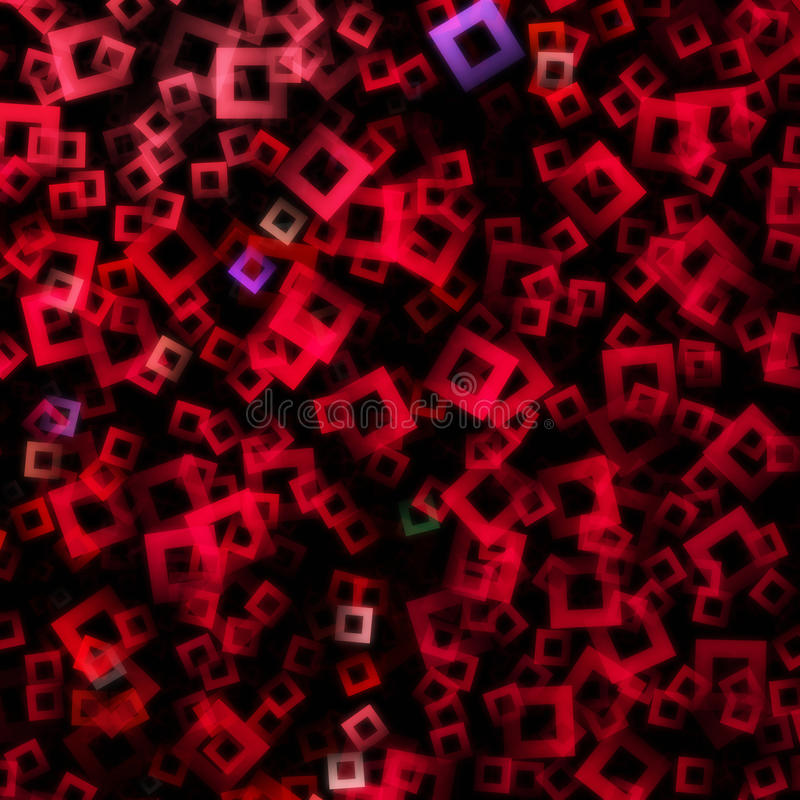 Starkes abstraktes quadratisches Design stock abbildung