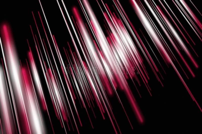Starkes abstraktes Streifenhintergrunddesign vektor abbildung