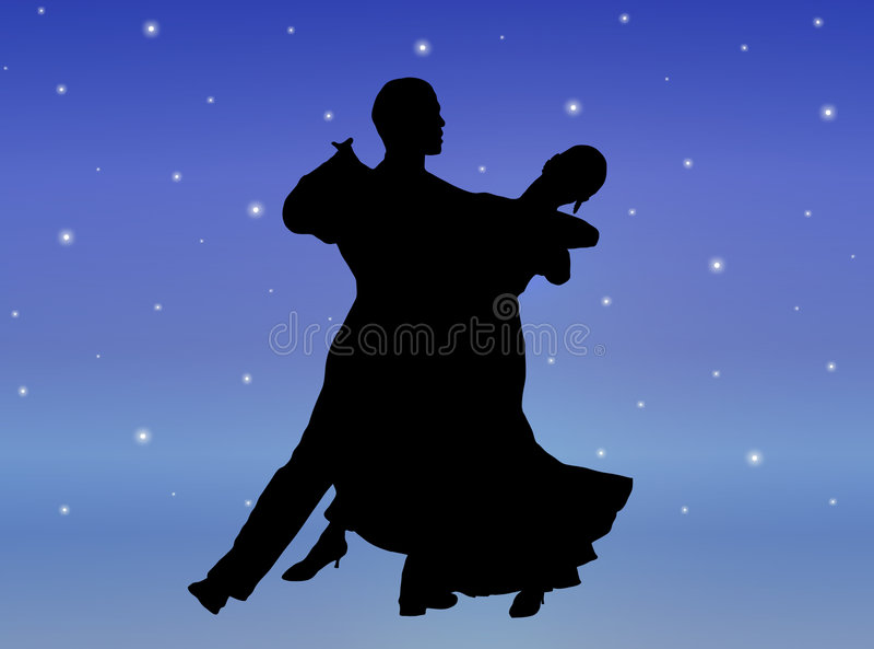 Starlight Dance 1 vector illustration