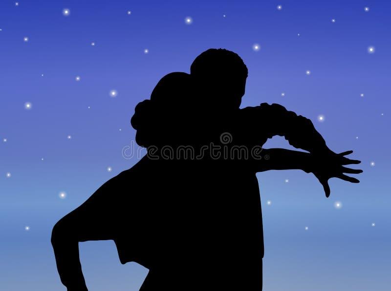 Starlight Dance 4 royalty free illustration