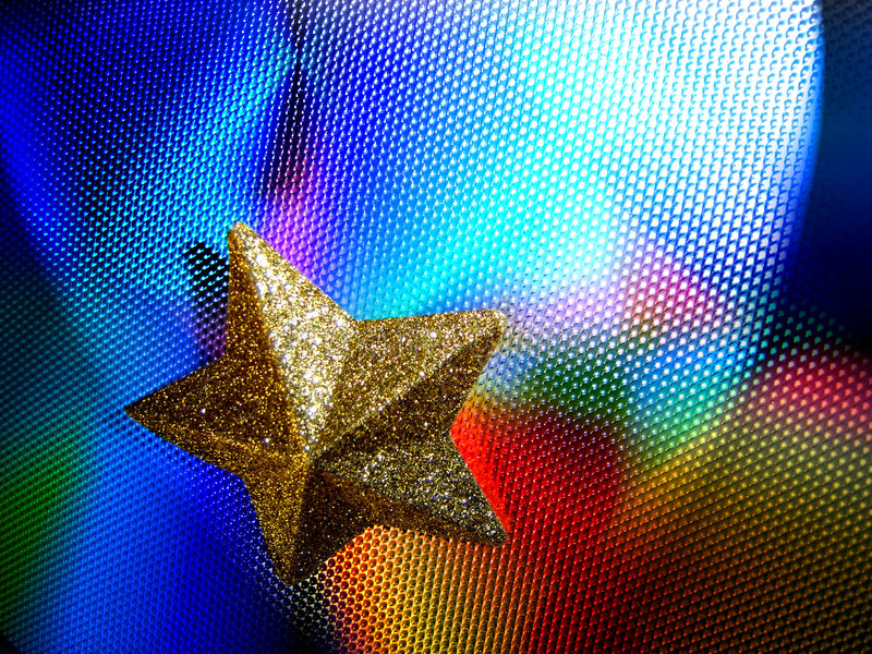 Starlights2 royalty-vrije stock foto