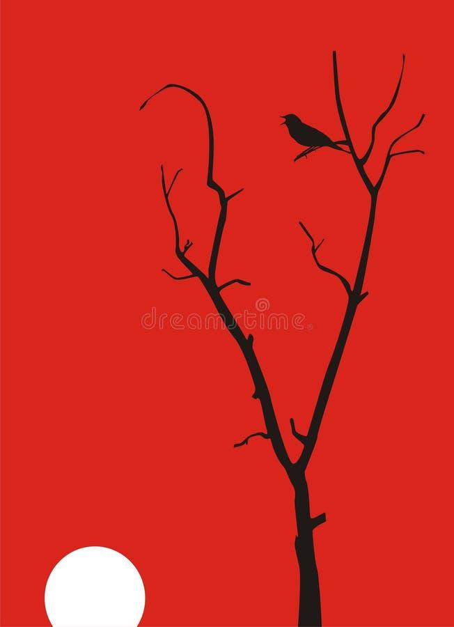 Starling stock illustratie