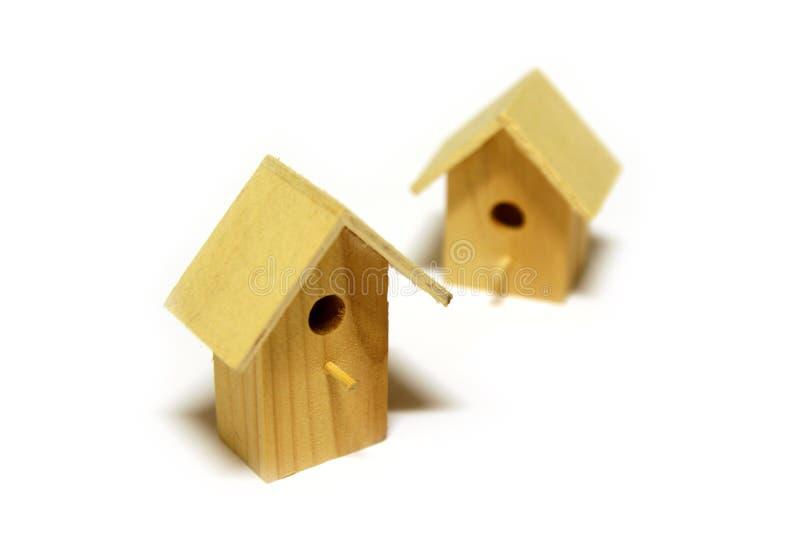Starling-casas imagen de archivo libre de regalías