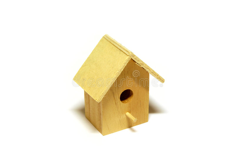 Starling-house royalty free stock photo