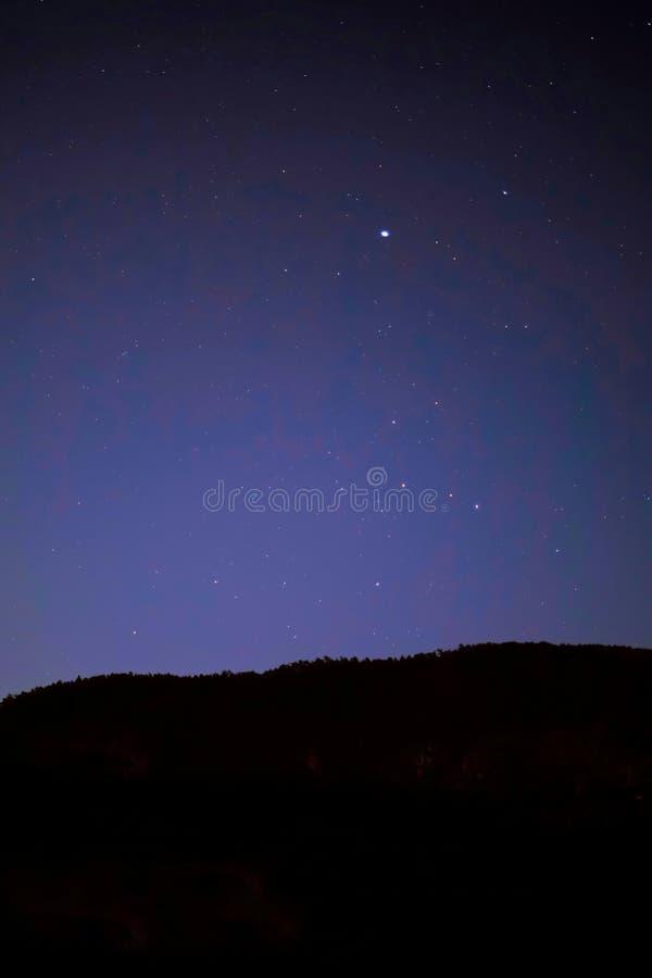 Starlit niebo w Japonia zdjęcie royalty free