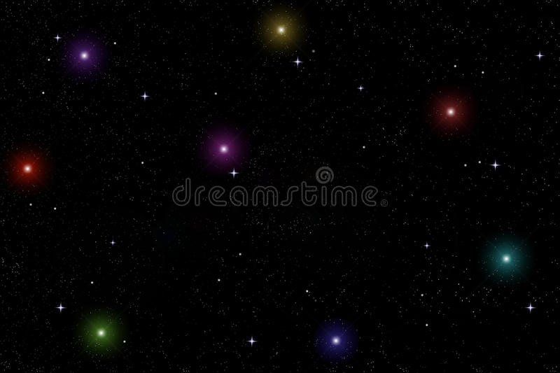 Download Starlit sky stock illustration. Image of shine, orion - 11861636