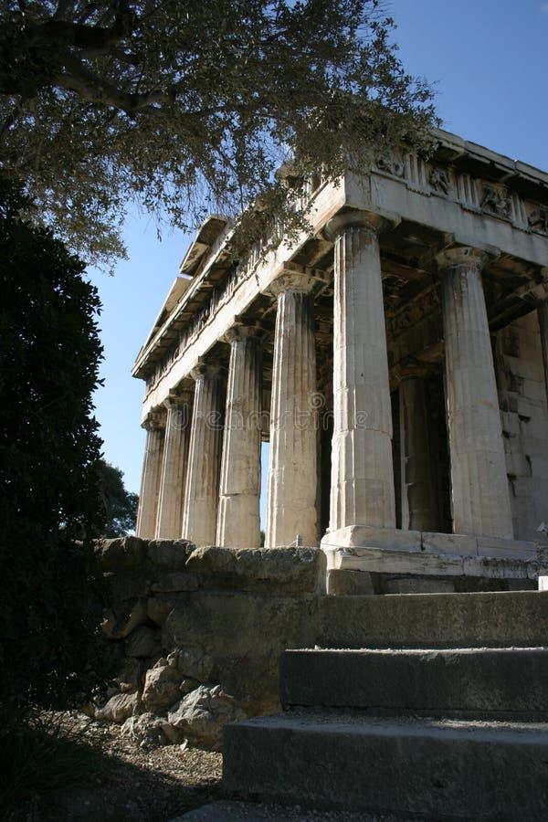 Starożytna świątynia Obrazy Royalty Free