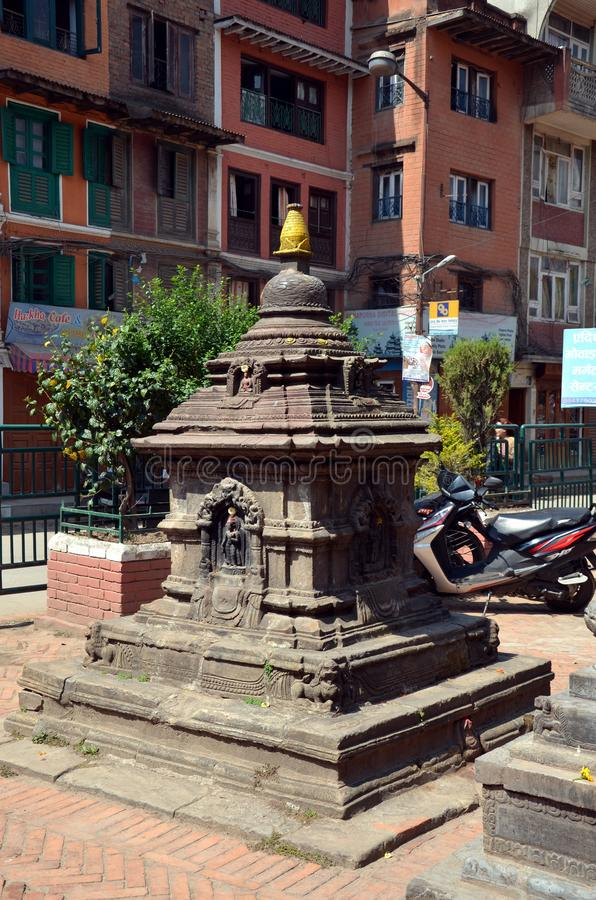 starożytna hinduska świątynia fotografia stock
