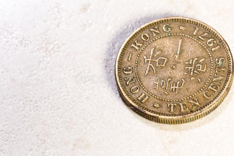 starożytne chińskie monety obrazy stock