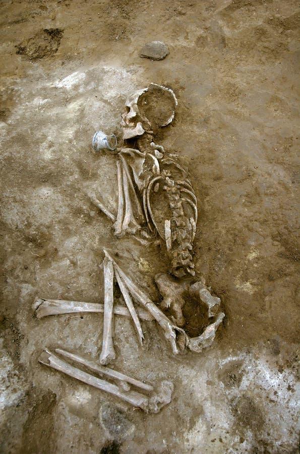 starożytne groby fotografia stock