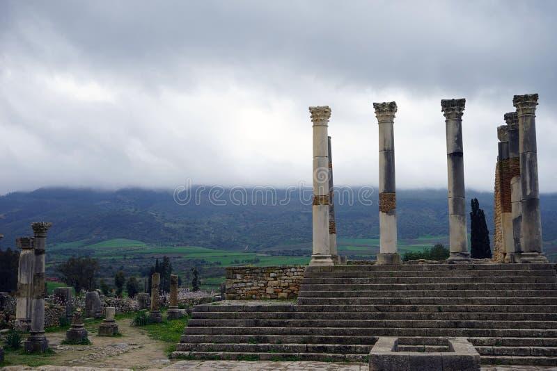 starożytne ruiny świątyni obrazy stock