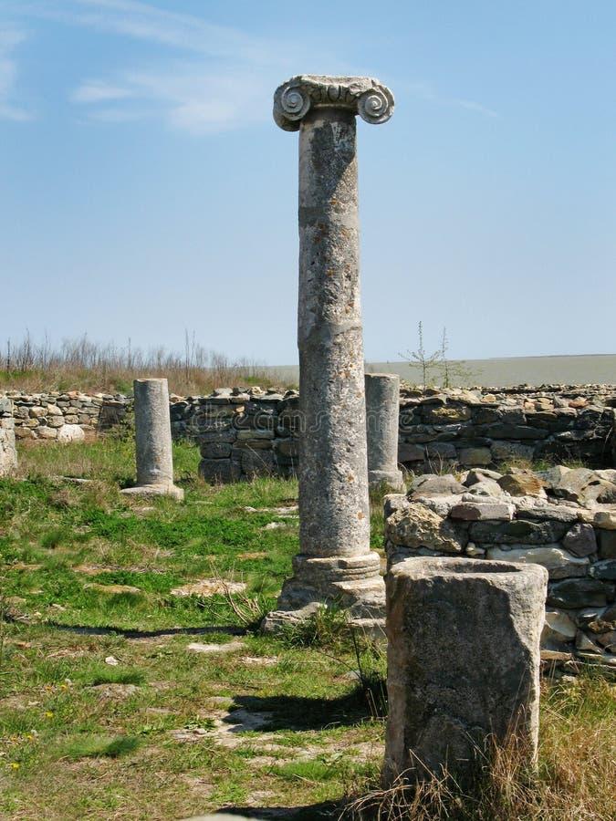 starożytne ruiny fotografia stock