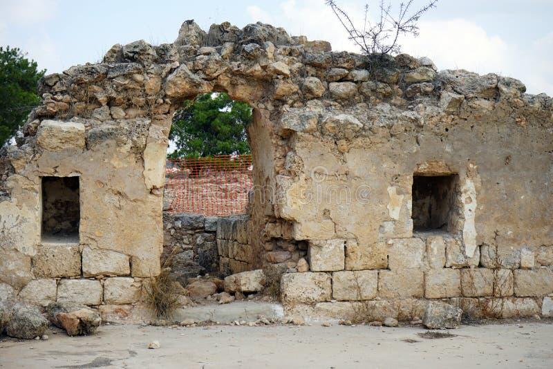 starożytne ruiny zdjęcie stock