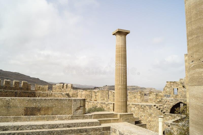 starożytne ruiny fotografia royalty free