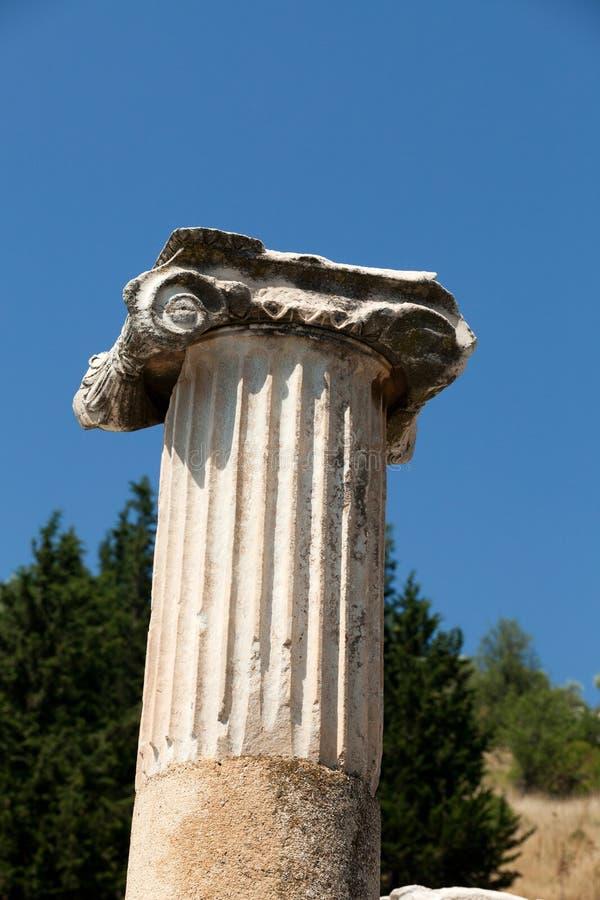 Starożytnego Grka miasto Ephesus obraz royalty free
