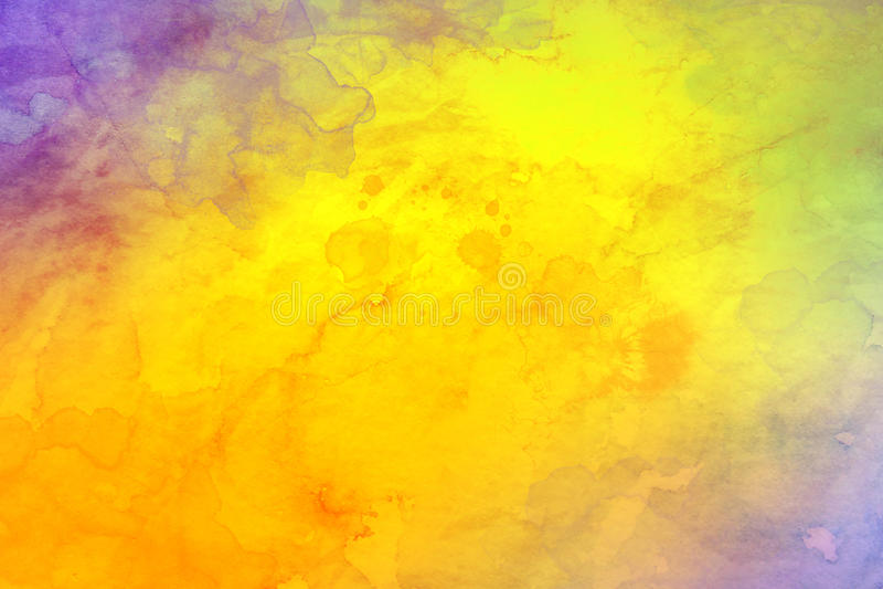 starożytny ciemności tła papieru akwareli żółty royalty ilustracja