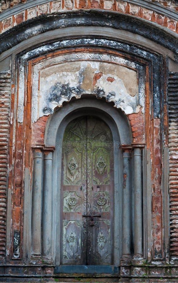 starożytny drzwi fotografia stock