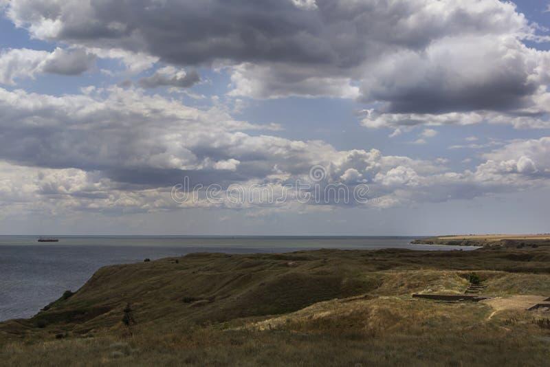 Starożytny Grek wioski ruiny antyczny Olbia północny wybrzeże Czarny morze fotografia stock