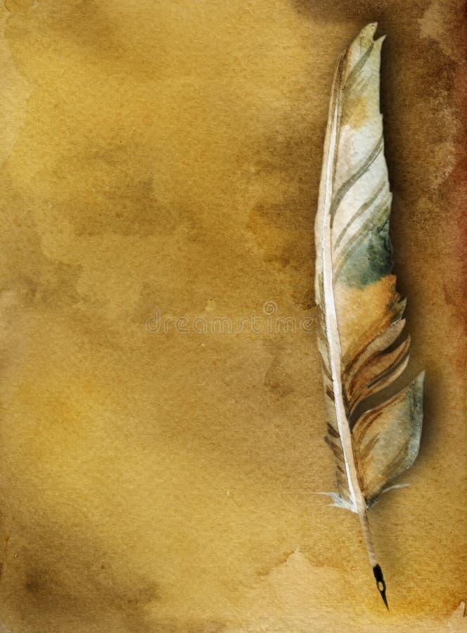 starożytny karty pióra długopis