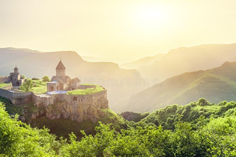 starożytny klasztor Tatev Armenia zdjęcia royalty free