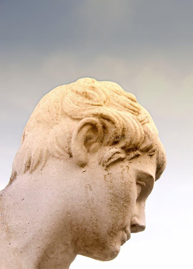 starożytny myśliciel obraz royalty free